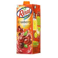 REAL FRUIT POWER CRANBERRY 1LTR