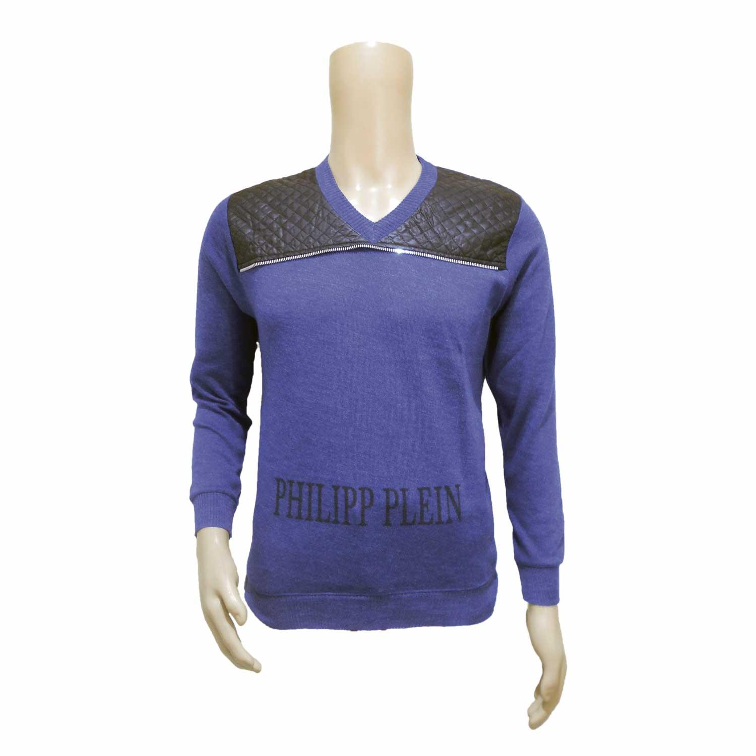 MEN'S SWEATER PHP P BLUE FREE SIZE