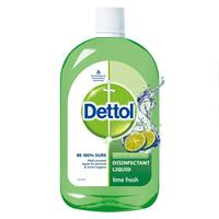 DETTOL DISINFECTANT LIQUID LIME FRESH 500ML