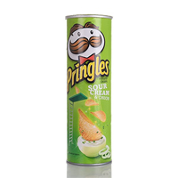 PRINGLES SOUR CREAM &ONION 110GM